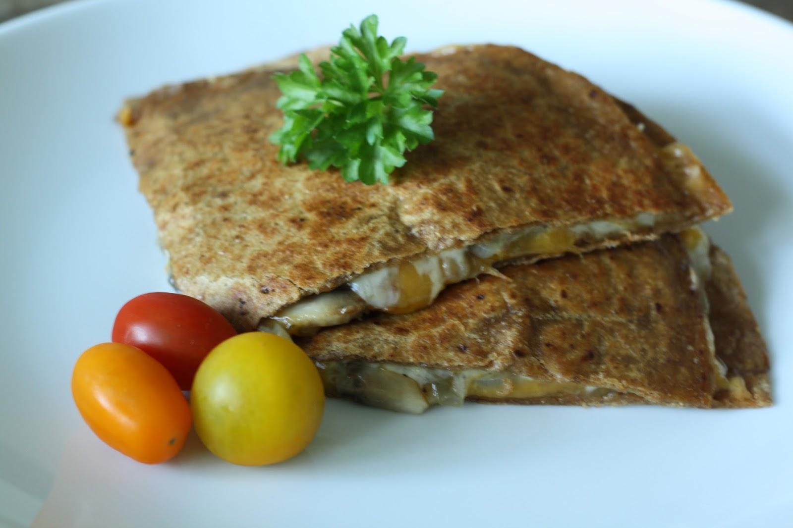 Mushroom Quesadillas Recipe — Dishmaps