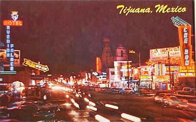 Tijuana, Mexico postcard