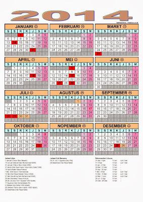 2014 Dan Hari Libur Nasional dan Lainnya yang bisa kamu baca langsung