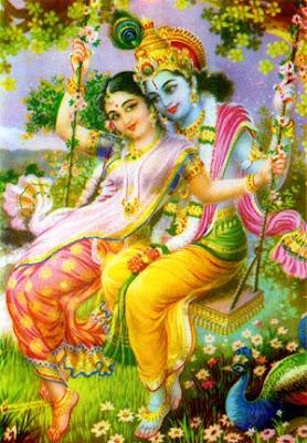 Radha Rani in Barsana Dham's ashram of Jagadguru Kripaluji Maharaj 4