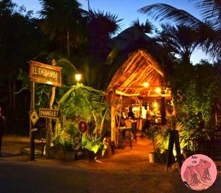 Restaurante Tabano en tulum