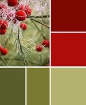 Kleurenkaartenteam : 10de oproep : Rood en groen