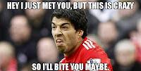 Luis Suarez humor meme