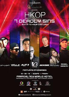 HKOP 2.0 Party at Paradis Manila