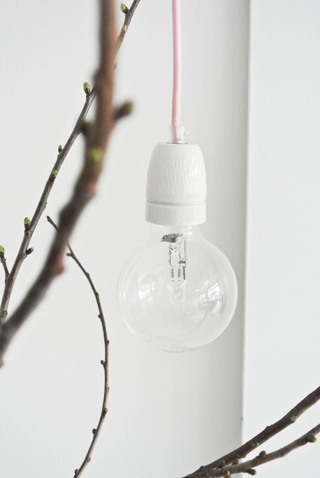 lekker fris: diy lamp woonkamer, Deco ideeën