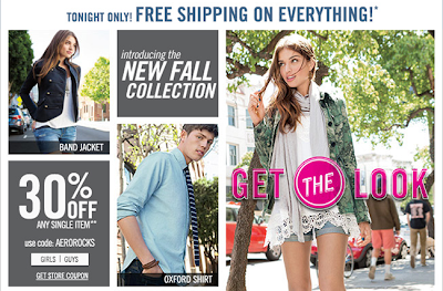 aeropostale 30% off coupon