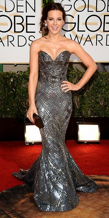 Kate Beckinsale, Golden Globes, fashion, red carpet, awards show