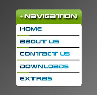 navigation menu bar