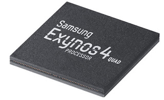 Quad-core processor of Samsung Galaxy SIII