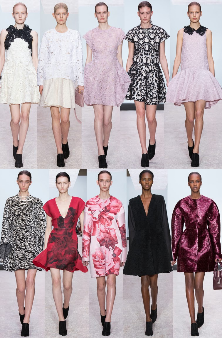 Giambattista Valli fall winter 2014 runway collection, PFW, Paris fashion week, FW14, AW14