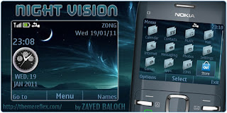 night vision c3 themes by zb Download Tema Nokia C3 Gratis