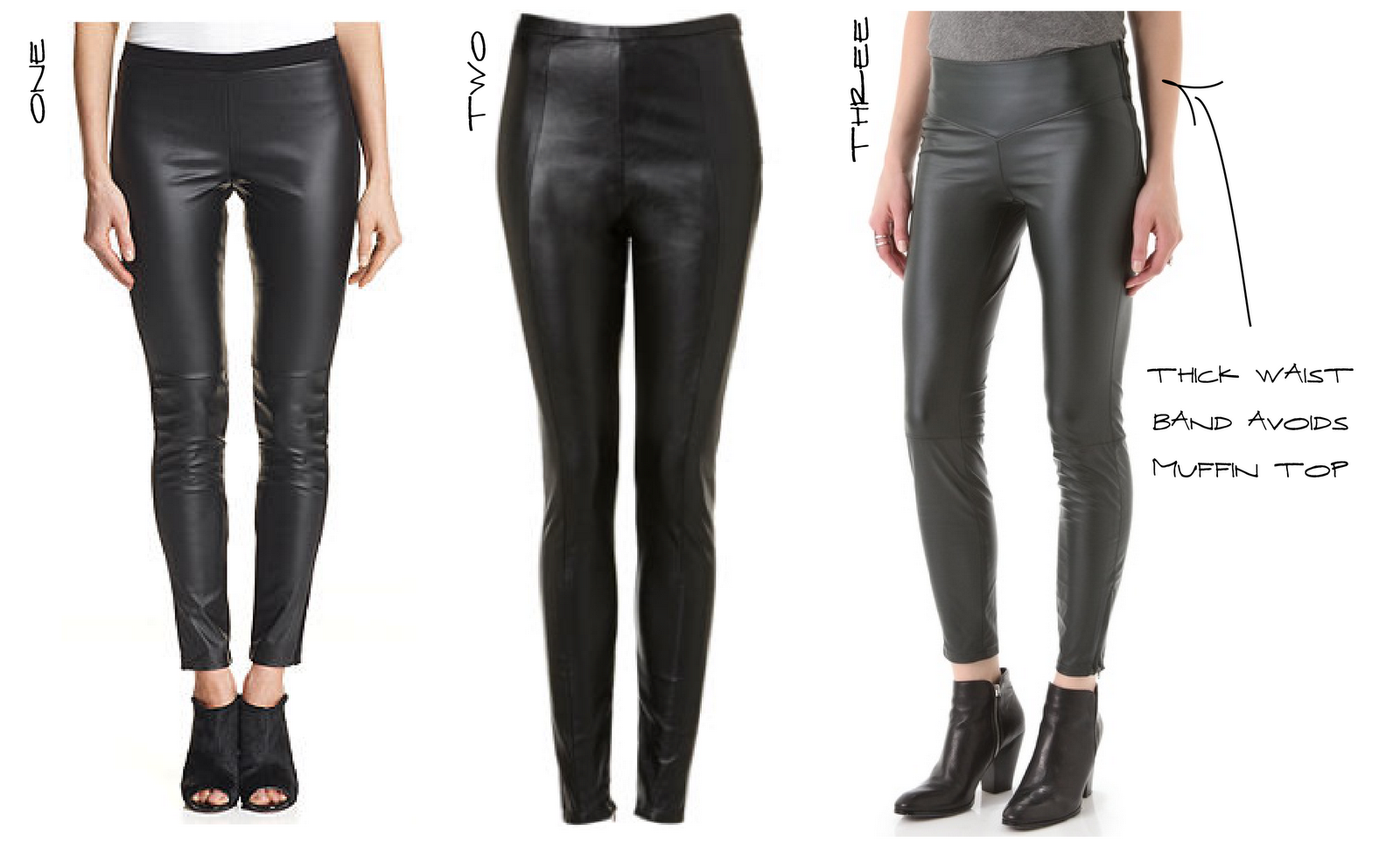 Leather Like Leggings - Trendy Clothes