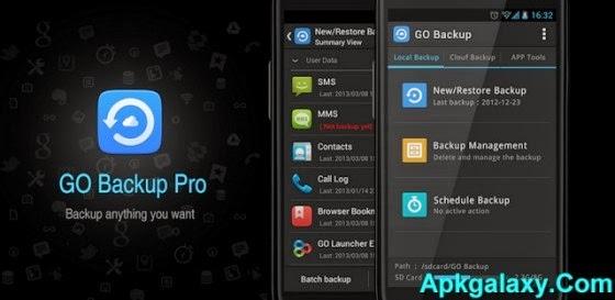 GO Backup & Restore Pro Premium v3.44 Apk