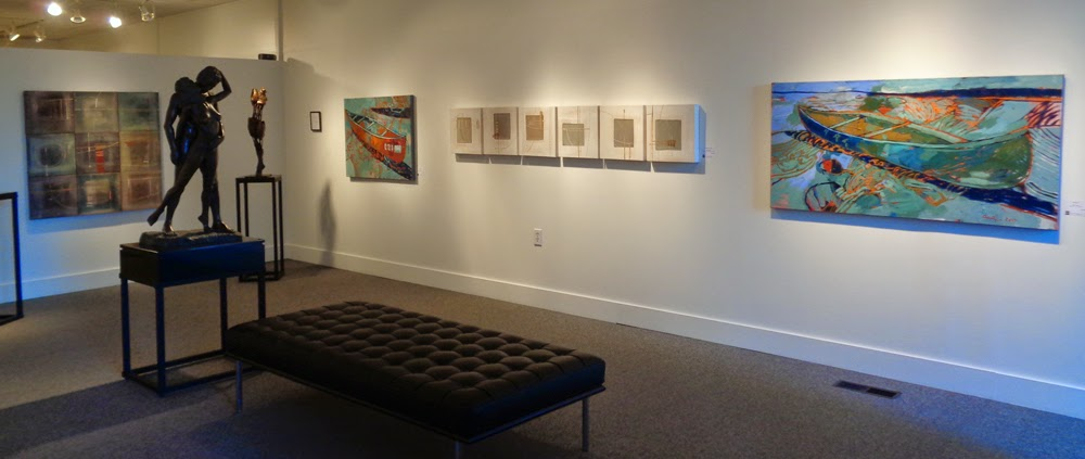 verna vogel & amy dryer exhibition at the Front Gallery