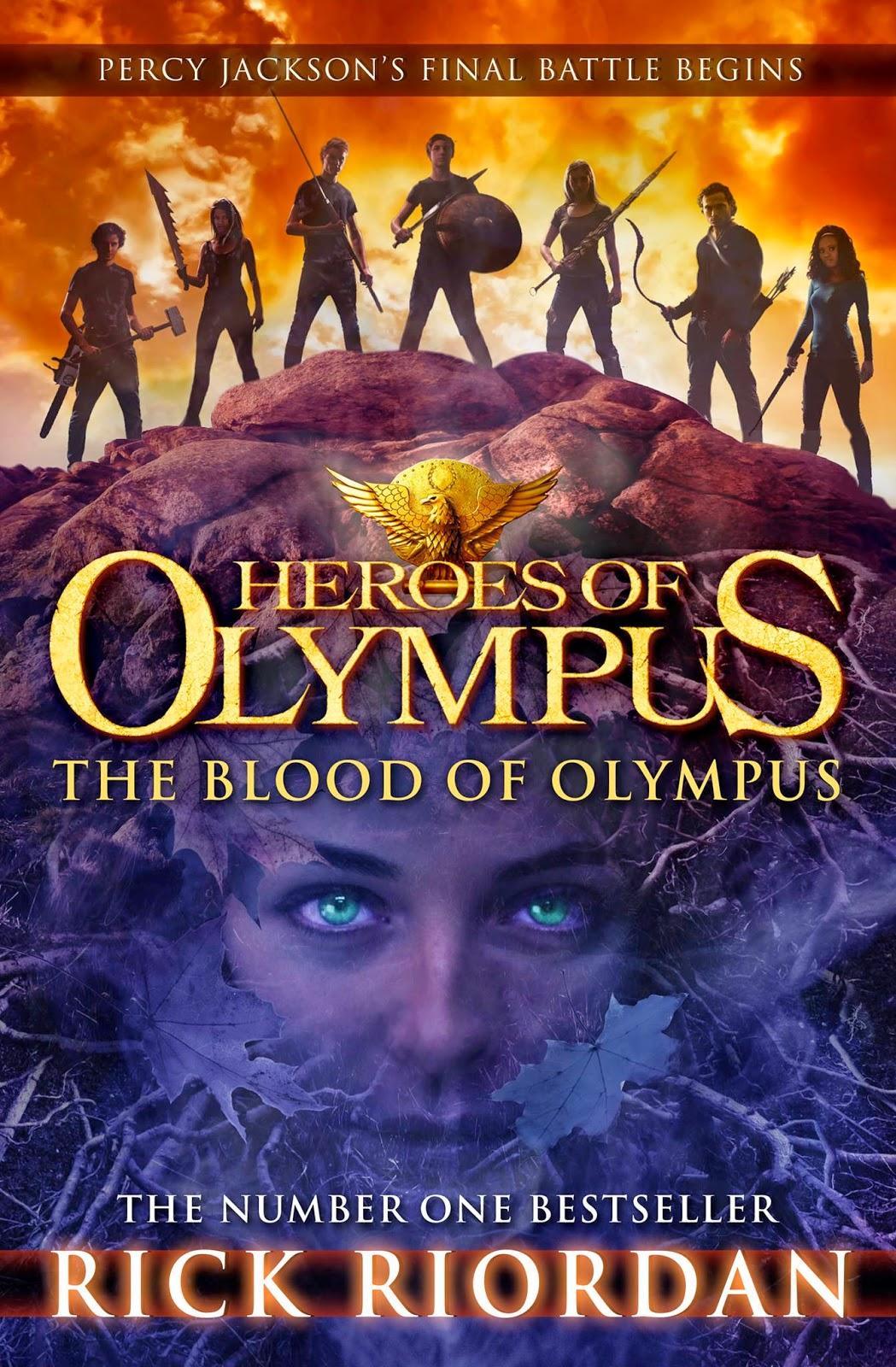 The Blood Of Olympus  Rick Riordan (book #5 In The Heroes Of Olympus  Series) (071014  091014)