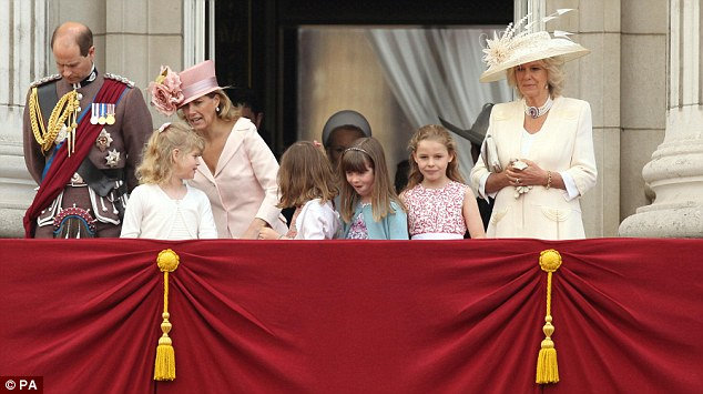 Prince william takes part in his first trooping the colour for Balcony ki photo
