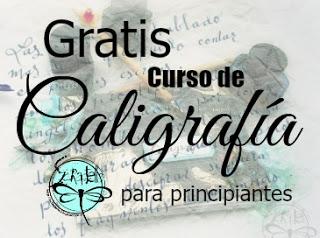 Scraptella-Curso de caligrafía