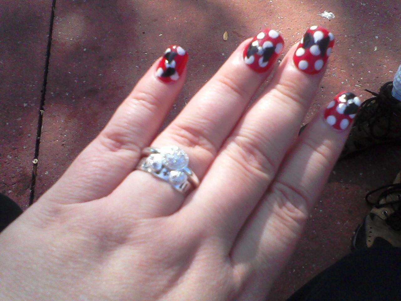 Tiny plastic fingernails: April 2011