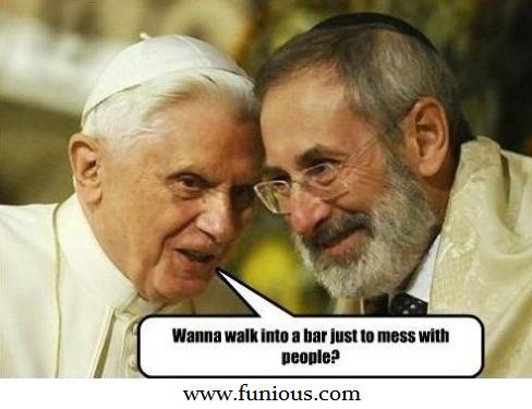 Pope Trolling Like a Boss