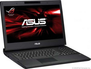 Laptop Asus G53SX with 3D Technology