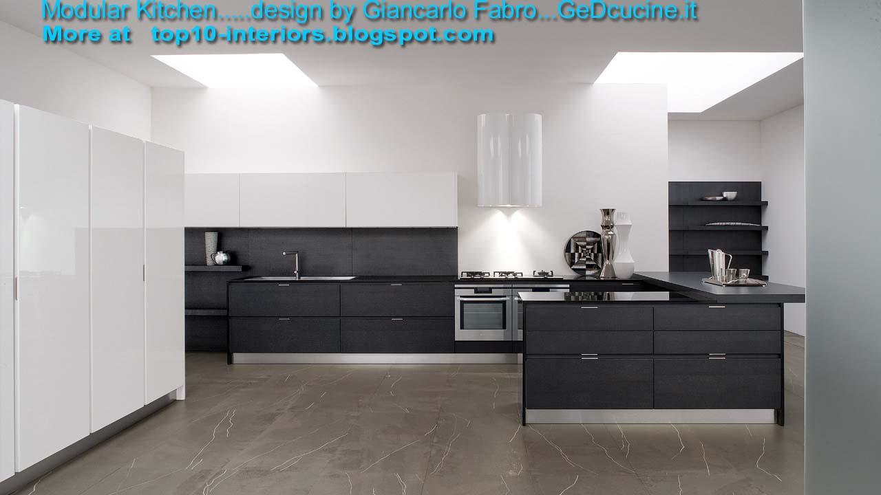 Top 10 Interiors Top10 Modular Kitchen Part4 10photos