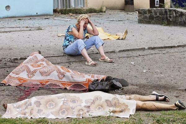 4 Gambar Tentera Ukraine Kini Mengebom Bandar?! #mh17 #praymh17