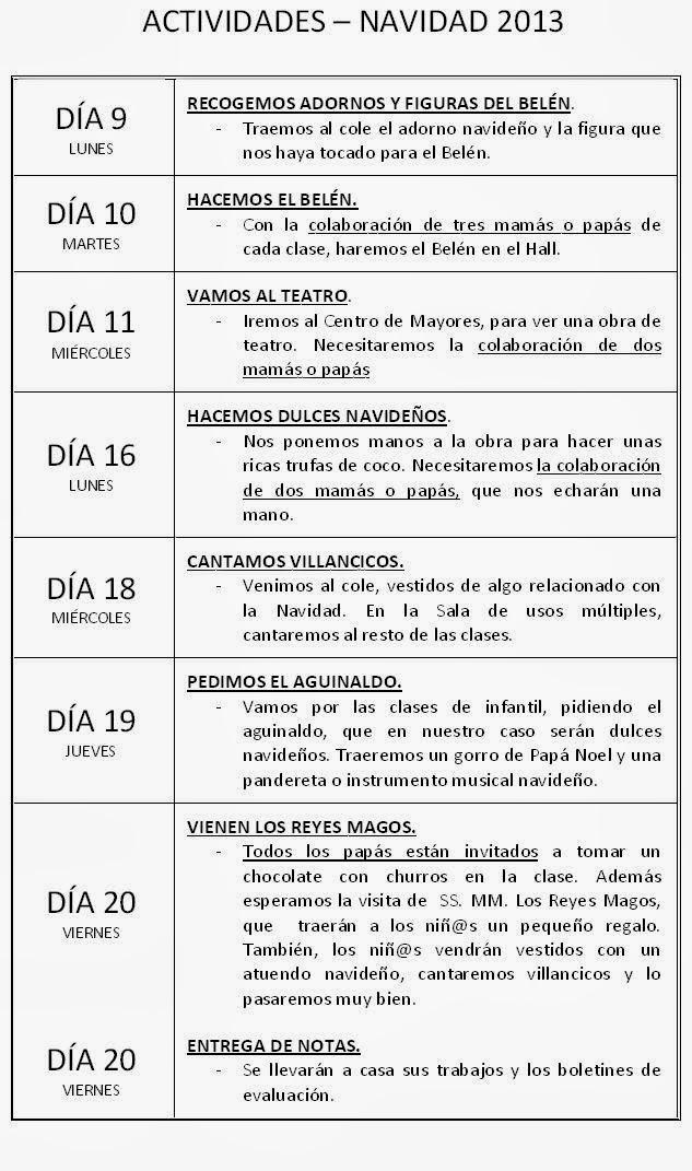 LOS PEQUE CALATRAVOS: PADRES