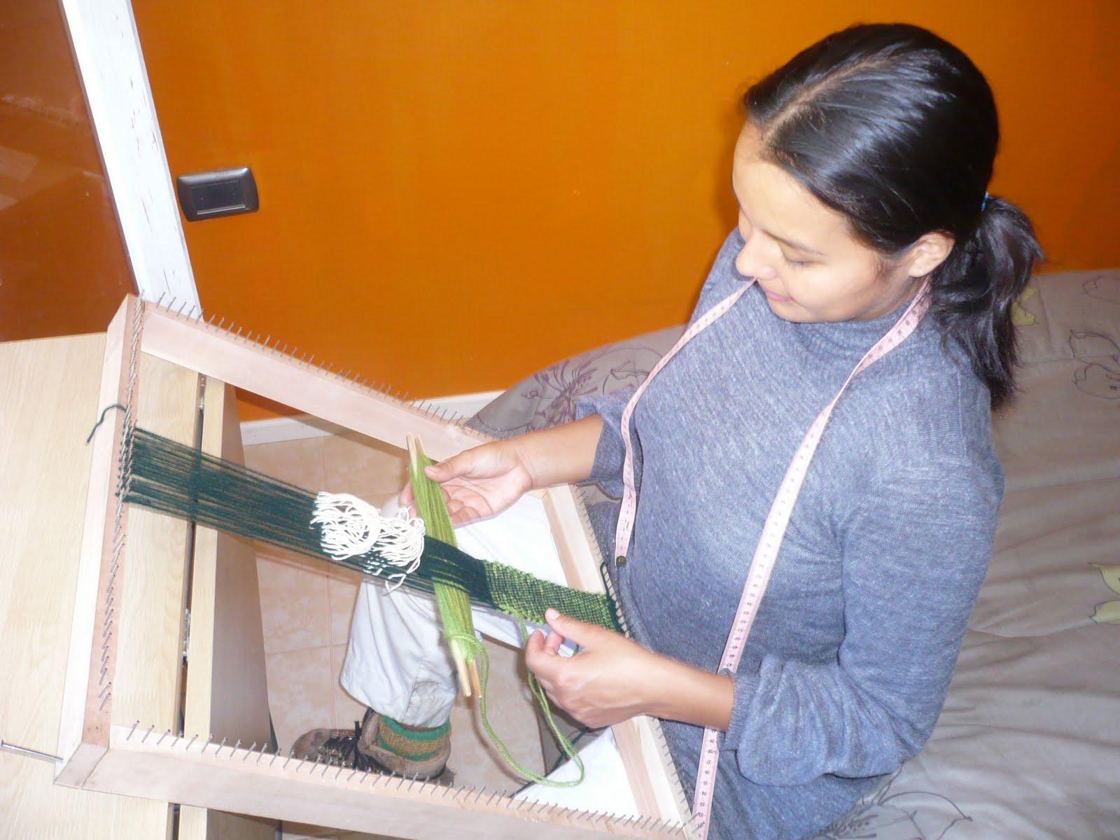 Centro cultural cordillera taller de telar mapuche for Viveros en nunoa
