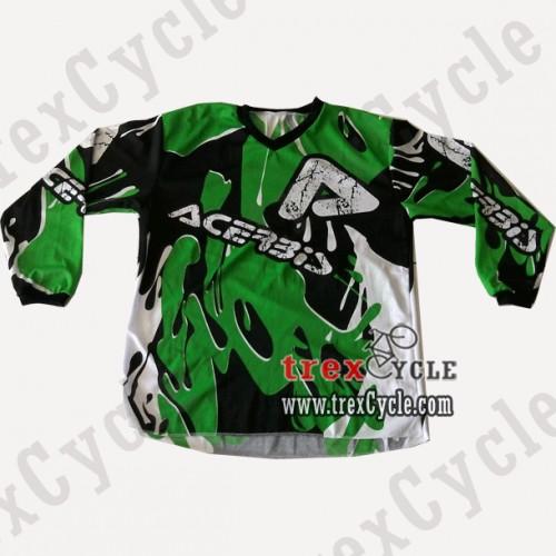 ... Mas - Jual Baju Motor Trail dan Motor Cross Acerbis Splash Green