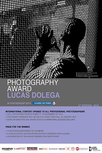 Lucas Dolega Award 2016 for professional freelance photographers