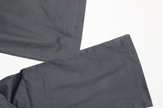 Sewing tutorial: Pants with blind hem