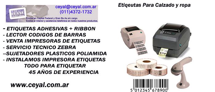 Impresora de Etiquetas Identificación de carga envios argentina
