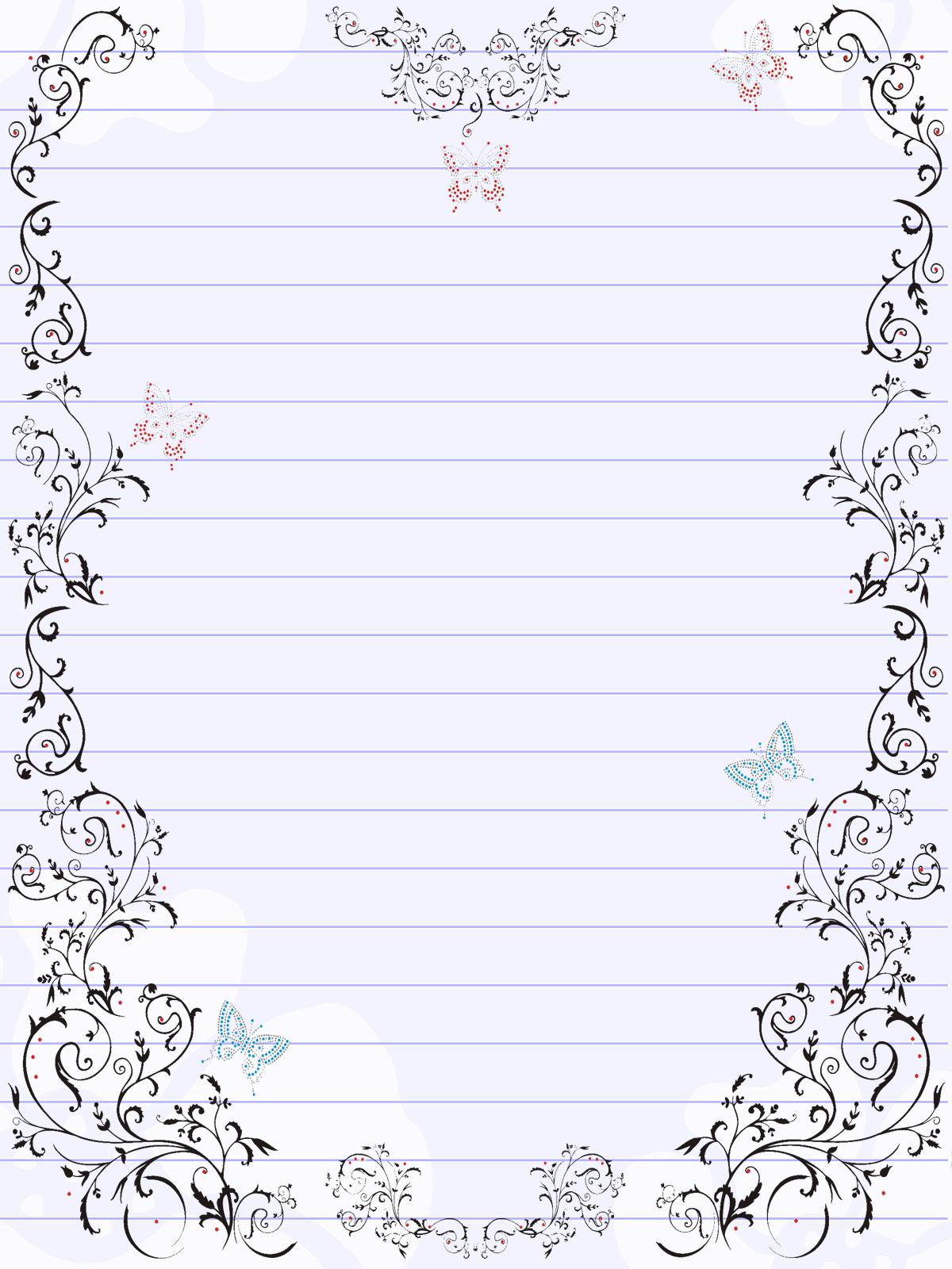 Papel de carta | Quero Imagem