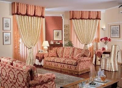 Cortinas para la sala salas con estilo - Tende per sala soggiorno ...