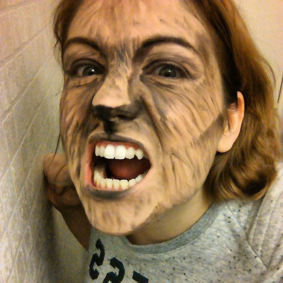 Maquillage Halloween Loup Garou