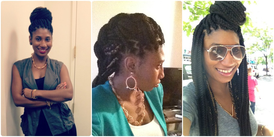 How To Do Poetic Justice Braids Bun