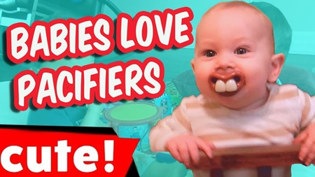 Babies Love Pacifiers | Cutest Kids Compilation