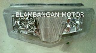 Lampu stop kaca putih Yamaha RX King New