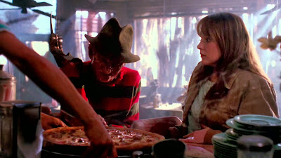 Freddy Krueger has Pizza in Nightmare on Elm Street 4