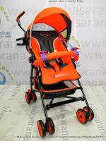 Kereta Dorong Bayi Pliko PK108 Adventure 2 Buggy Orange