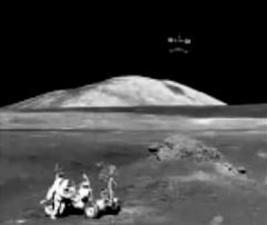 Alien Base On The Moon In Detail, Clear UFO Photos Released By NASA Taken By Astronauts,  Ufo+over+astronauts+on+moon