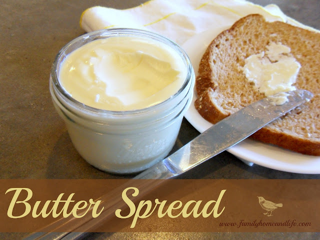 Homemade Butter Spread