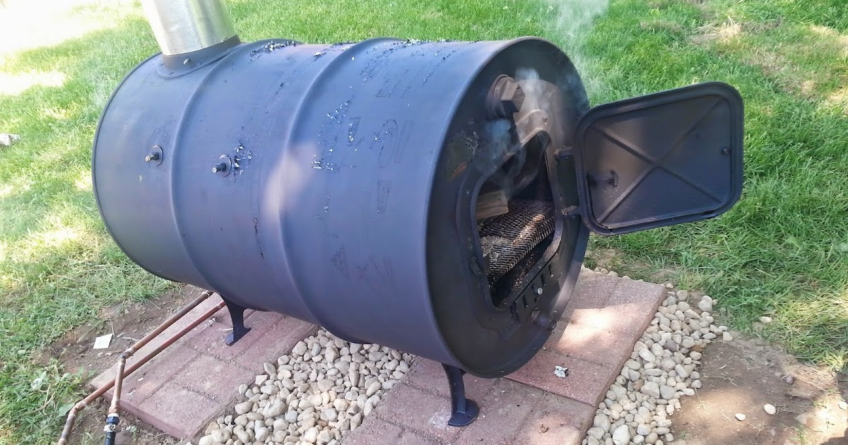 Update on the Wood Burning Pool Heater - How Well Does it Work? ~ Simple Suburban Living