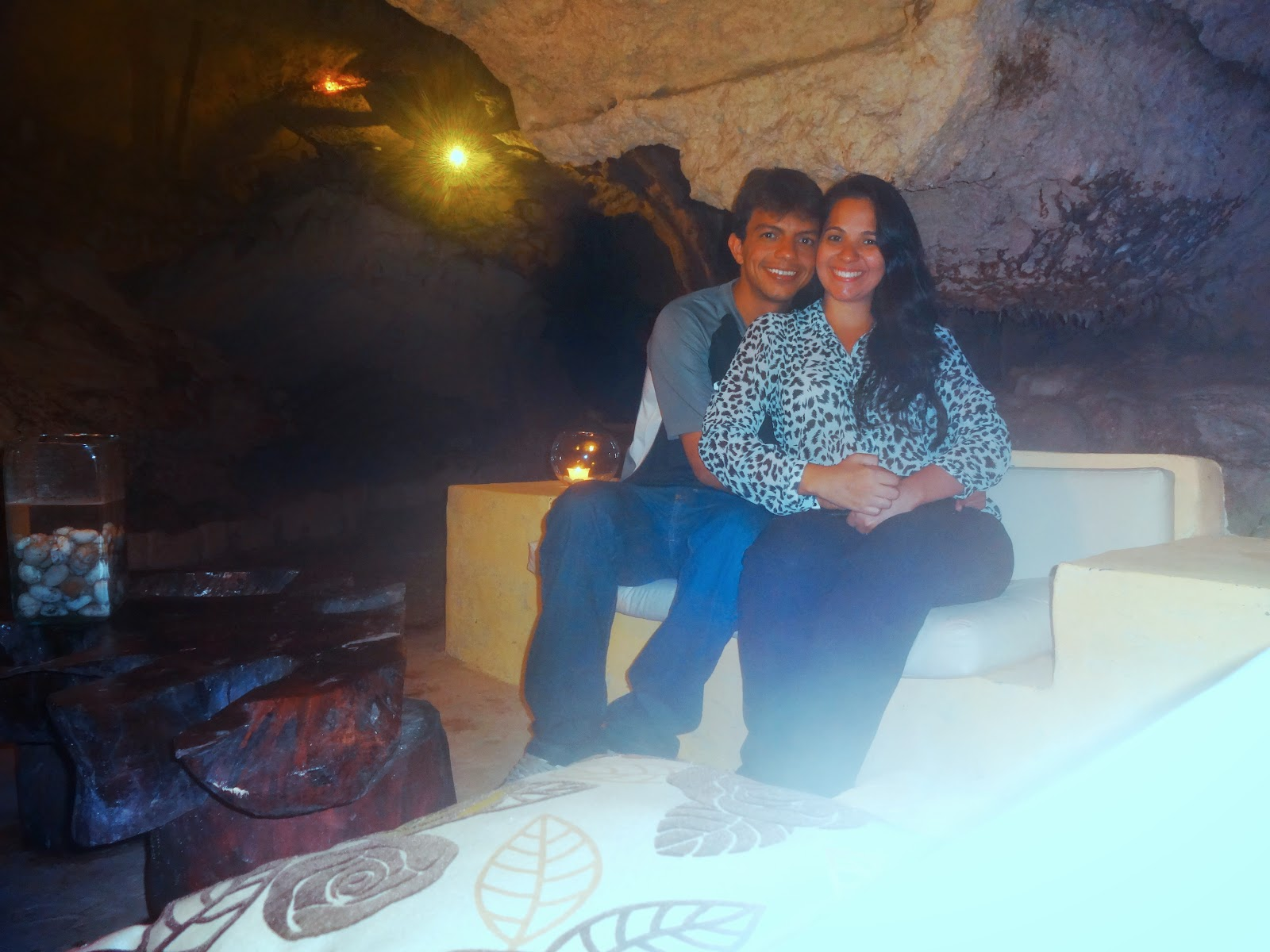 caverna - restaurante Alux - Playa del Carmen - Cancun