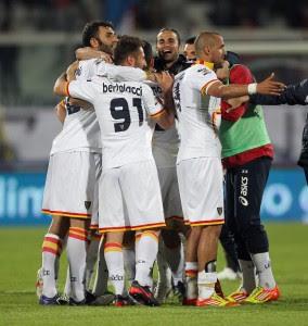 Catania Lecce 1-2 highlights