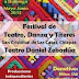 Cartelera del Festival de Danza, Teatro y Títeres en San Cristóbal de las Casas