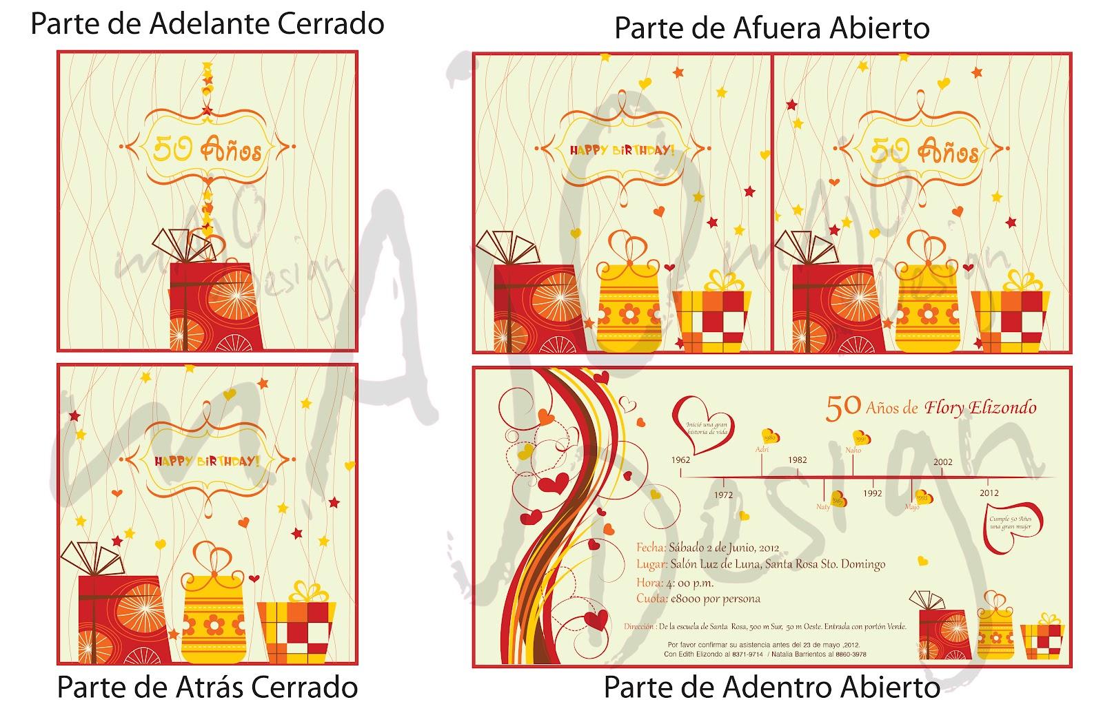 Fiestas y Bodas | María José SH - Diseños