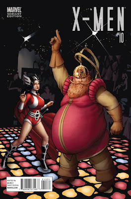 X Men Vol 3 10 Thor Goes Hollywood Variant The 72 Best Comic Book Covers of 2011