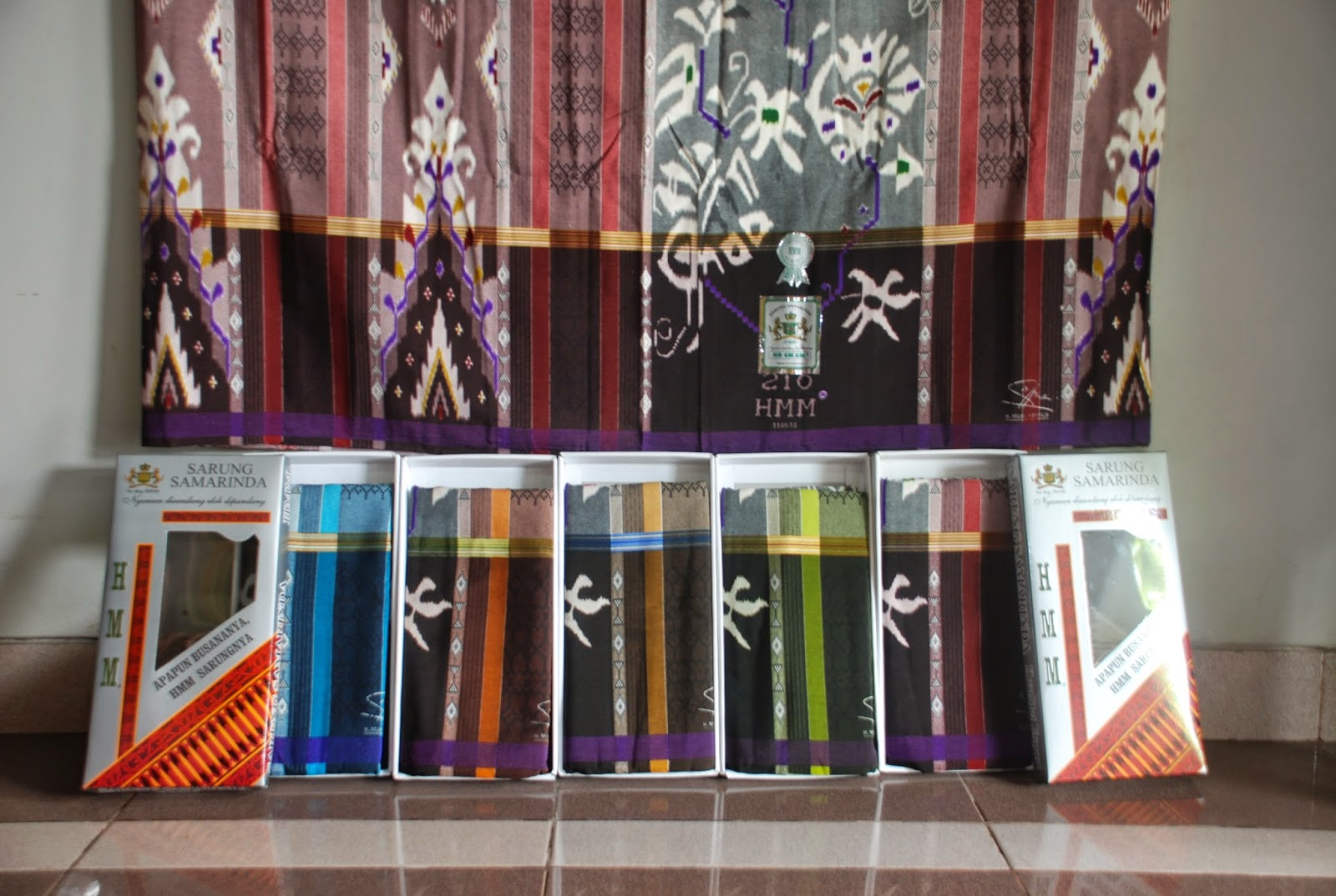 Grosir Sarung Tenun Samarinda Super Murah