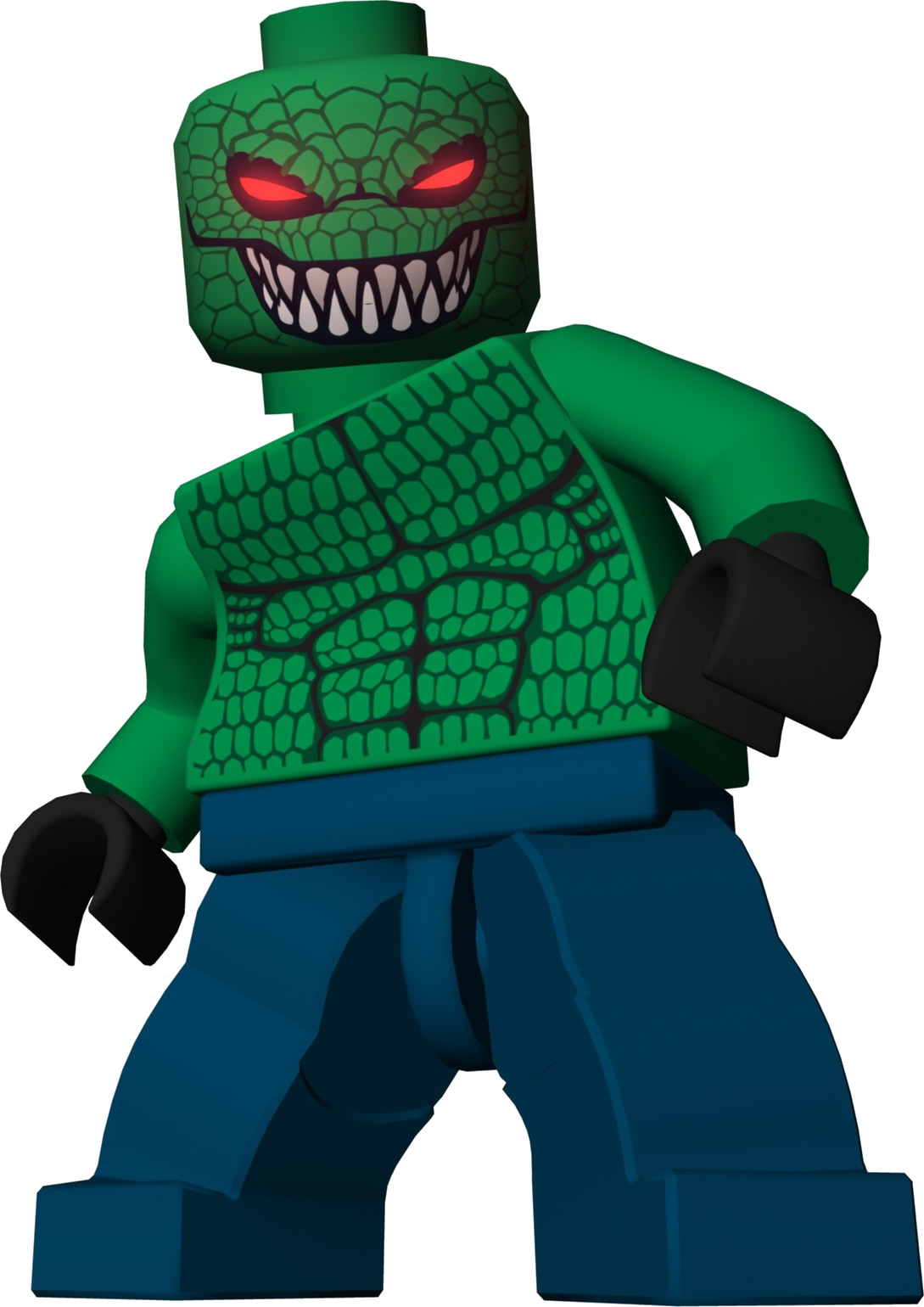 June 2013 Lego Killer Croc 2013